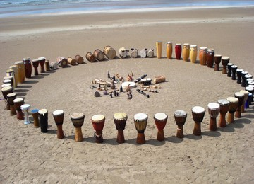 Percussie on the Beach