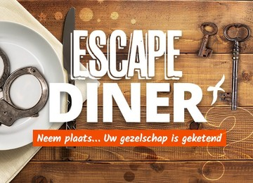 Escape Diner in Alkmaar met Stadskaffee Laurens